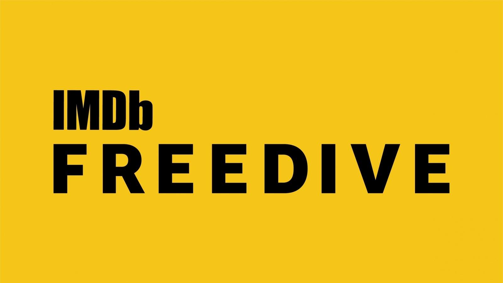 Imdbfreedive Logo Singleline Blackonyellow4
