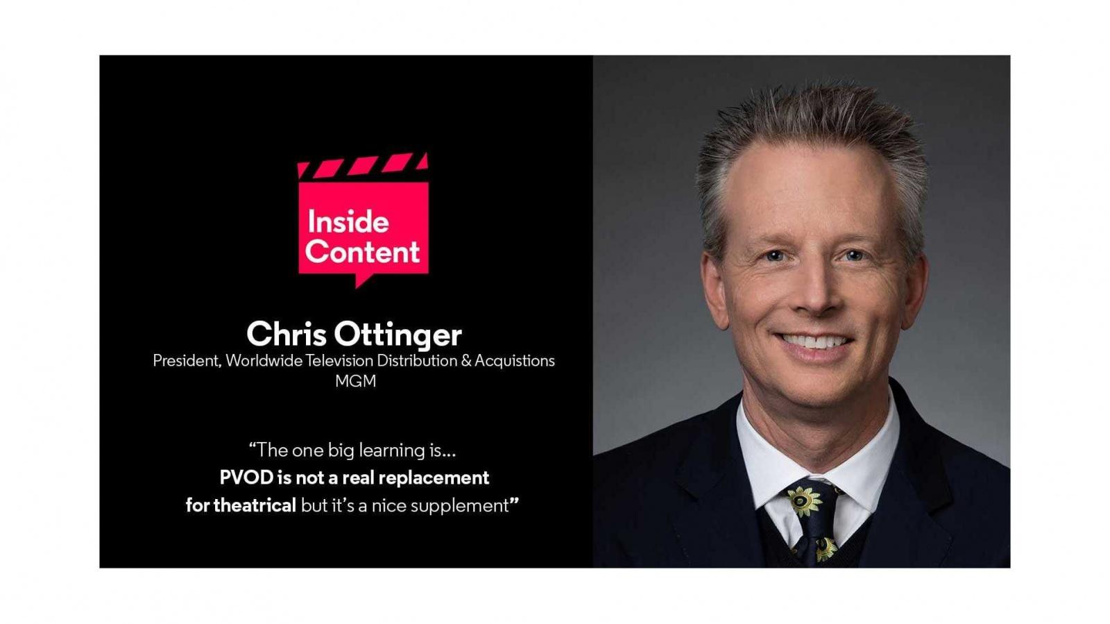 Chris Ottinger quote PVOD