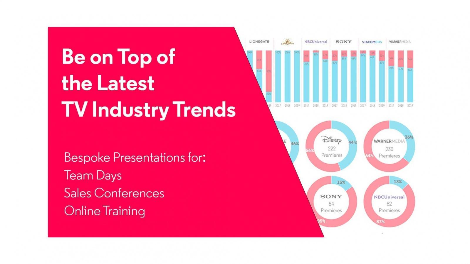 Trend presentations white